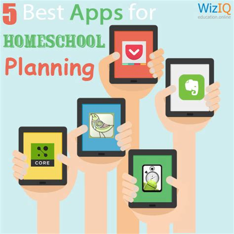 homeschool lesson plan app 5 best apps for homeschool planning wiziq official teach