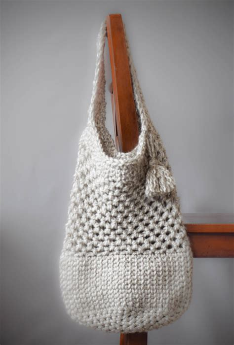 Tote Bag Gig Market Tote manhattan market tote crochet pattern in a stitch