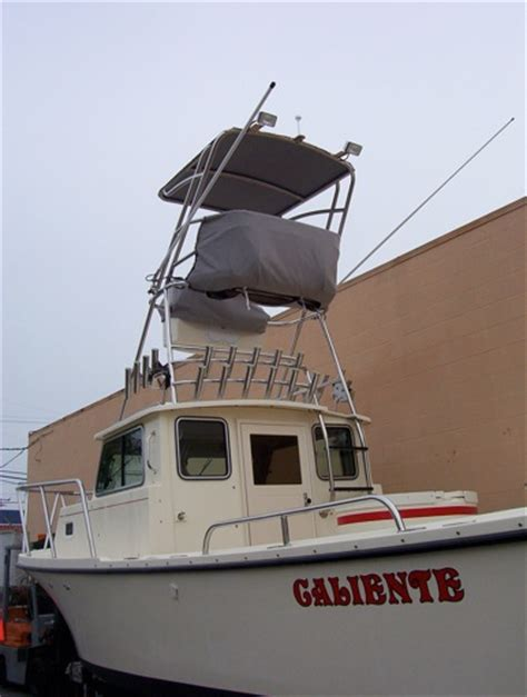 boat tower control station tuna towers fishing boats unlimited