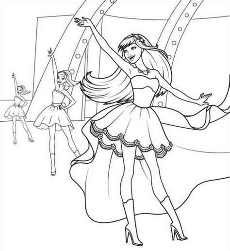 dibujos para pintar de princesas para imprimir imagui barbie bailarina para colorir az dibujos para colorear