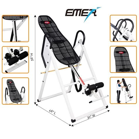 hang ups inversion table manual teeter hang ups ep 560 inversion table accessories owner
