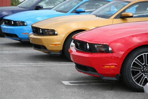 2010 mustang colors 2010 ford mustang colors with photos