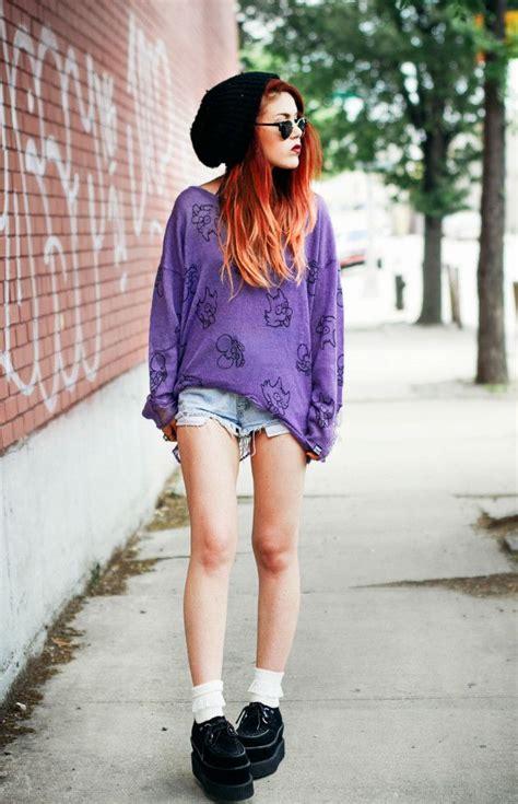 Sweater Drop Dead Happy le happy purple sweater simpsons shorts sweater drop