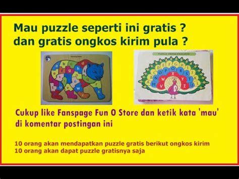 Mainan Puzzle Edukasi Anak Puzzle Kayu 3d Puzzle Susun Limited grosir mainan anak puzzle kayu dari