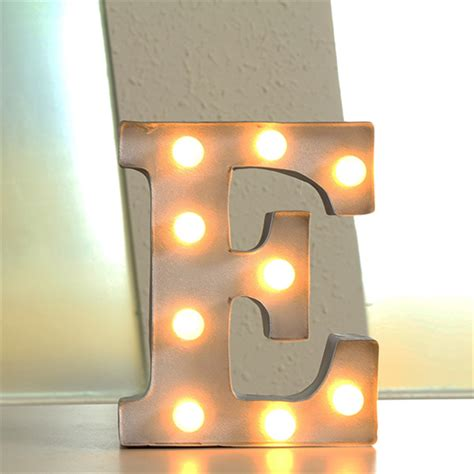 letter marquee wall light 12 quot letters light led alphabet marquee sign vintage
