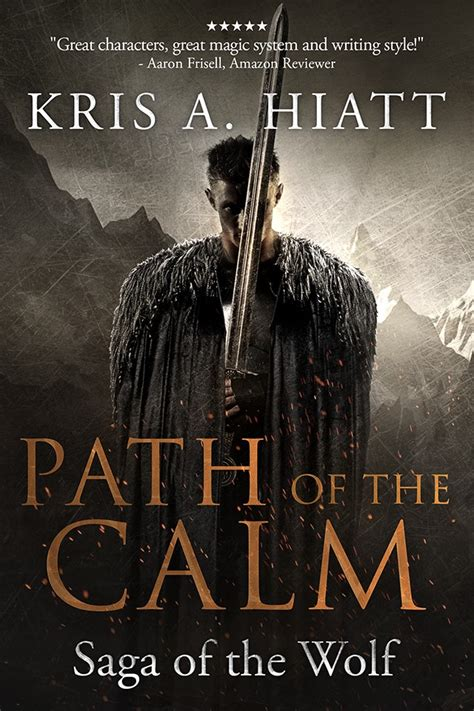 the path of the books design book cover path of the calm saga of the wolf