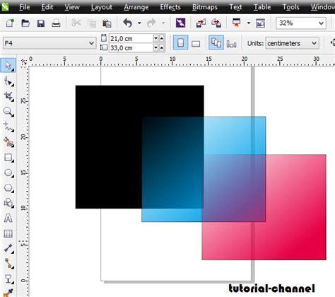 membuat outline pada gambar di coreldraw cara membuat gambar transparan pada coreldraw belajar