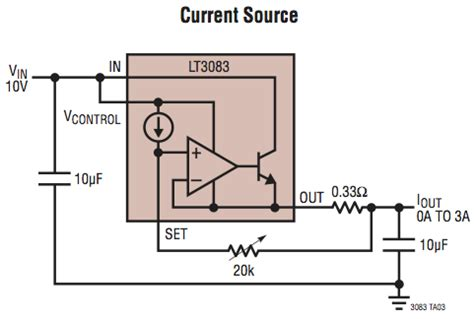 a 10 ohm resistor has a constant current voltage regulator for linear constant current 1 5a led driver electrical engineering stack