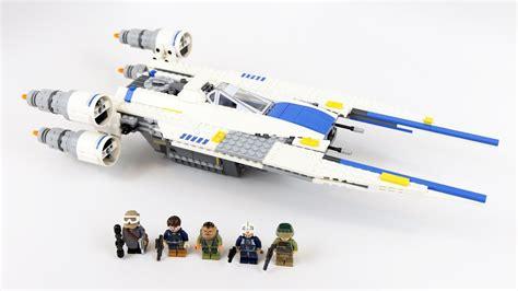 lego wars rebel u wing fighter timelapse review