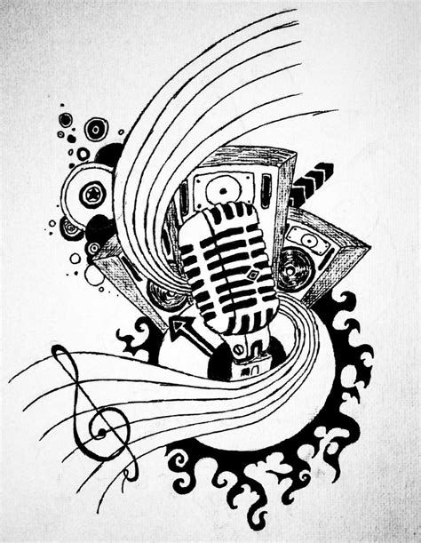 skull music tattoo designs designs search tattoos