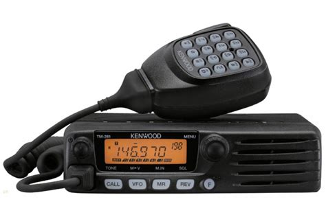 rugged ham radio kenwood tm 281a 144 mhz mobile transceiver 65 watts rx 136 174 mhz 200 memory 25 instant