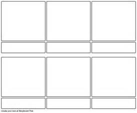 blank story board template storyboard by dminors