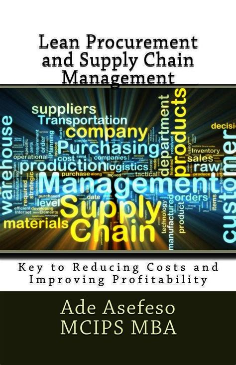 Lean Operations And Systems Mba by Read Lean Procurement And Supply Chain Management Key To