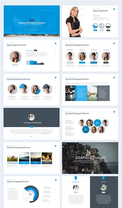 layout ppt modern keynote business powerpoint template powerpoint