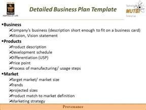 detailed business plan template how to write a successful business plan free premium