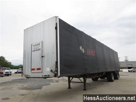 curtain trailers for sale used 2000 fruehauf 48 curtain side trailer for sale in pa