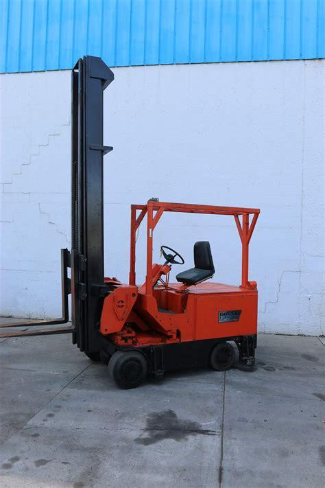 drexel swing mast forklift 6000 lbs drexel swing mast electric forklift stock 15267