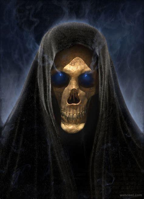 Home Interior Ideas India skull death by darkodev 23