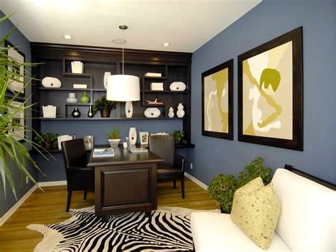 how to choose home office wall color