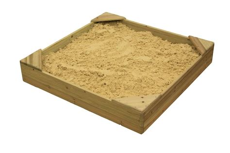 sand in pit selwood sandpit 1m square garden accessories