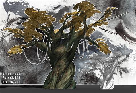 art works  hikaru wada alien tree