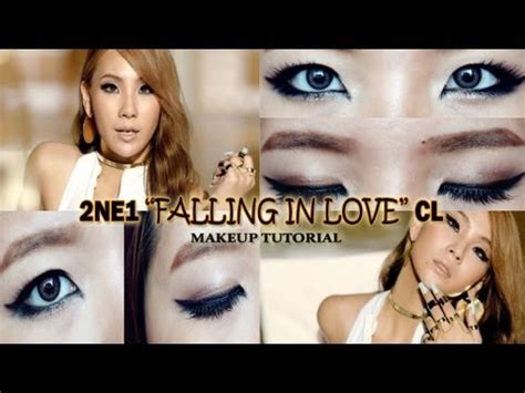 cl makeup tutorial 2ne1 quot falling in love quot cl inspired makeup tutorial youtube