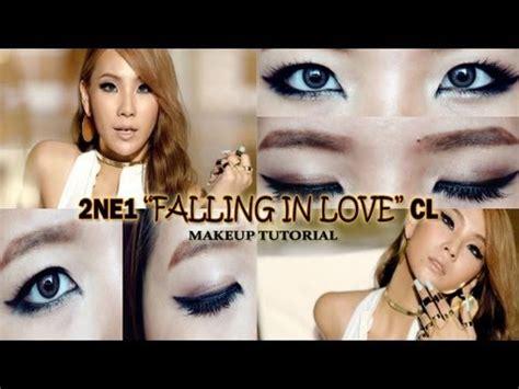 tutorial eyeliner cl 2ne1 2ne1 quot falling in love quot cl inspired makeup tutorial youtube