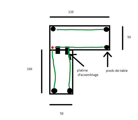 construire un bureau d angle debutant aide pour fabriquer bureau d angle