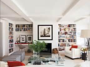 bookshelves in living room lori gilder
