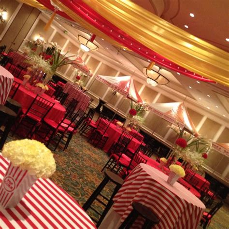 carnival themes for prom elegant circus theme i think using a deep red instead of