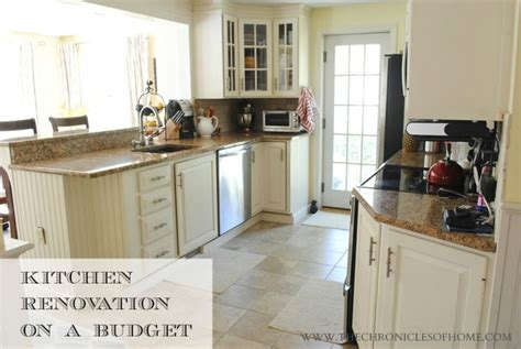 Kitchen Remodel Home Depot Budget Kitchen Renovation The Home Depot