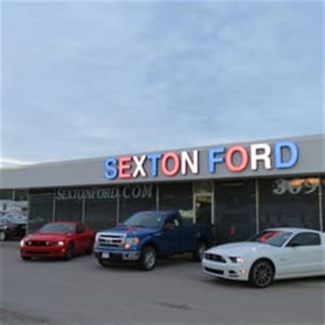 sexton ford sexton ford sales service car dealers 3802 16th st