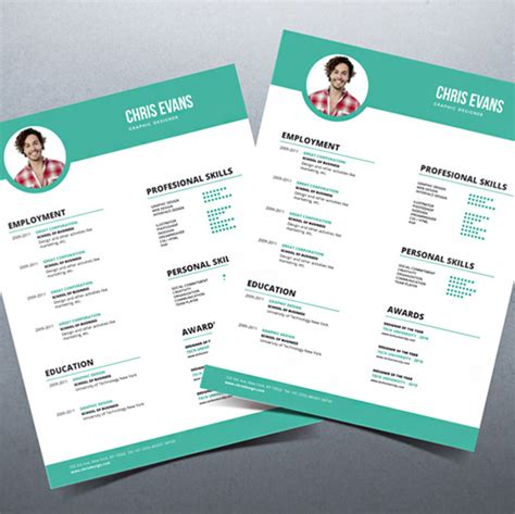 Attractive Resume Templates by 30 Free Beautiful Resume Templates To Hongkiat