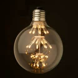 Decorative Light Bulbs For Chandeliers Dimmable 3 Watt Vintage Led E27 Clear 95mm Round Bulb