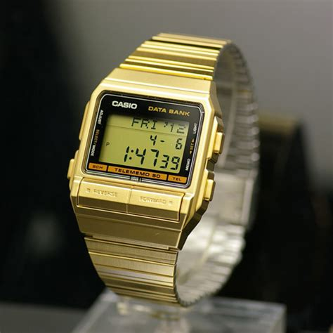 Jam Tangan Digital Pria Databank Casio Original Db E30d 1a data bank pusat penjualan jam tangan casio original