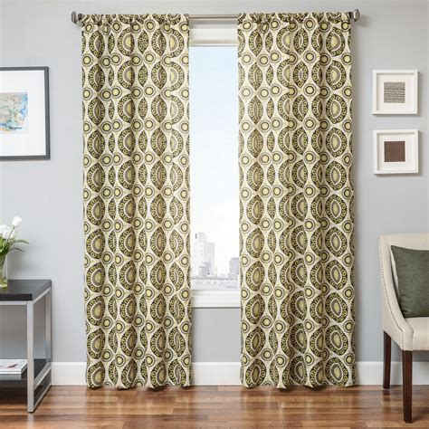 citron colored curtains softline home fashions drapery norwalk panel