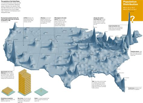 map usa population what are some amazing maps quora