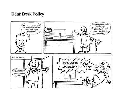 Clear Desk Policy by Clean Desk Policy