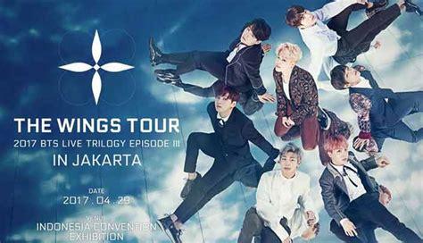 bts konser di indonesia harga tiket konser bts indonesia resmi rilis mulai rp 1