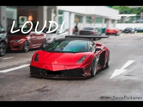 lamborghini customised loud custom lamborghini gallardo spyder youtube