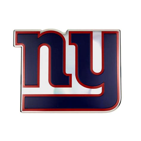 ny giants colors new york giants color emblem car or truck decal team