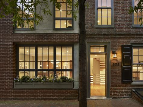 Exterior window trim ideas exterior contemporary with brick house black shutters