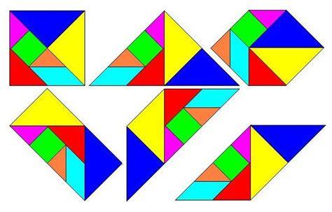 figuras geometricas que forman el tangram gamificando con gardner figuras con tangram