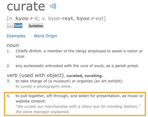 themes dictionary meaning curated definition of content curation from 6 best of the best
