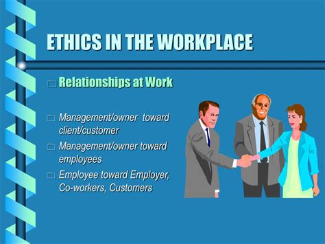 ppt ethics in the workplace powerpoint presentation id