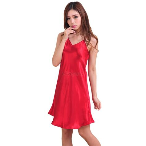 Babydoll Nec270716 0010 silk robe dress babydoll nightdress nightgown sleepwear ebay