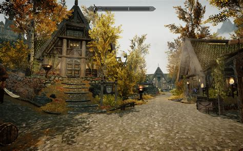 House In Whiterun by Beautiful Whiterun At Skyrim Nexus Mods And Community