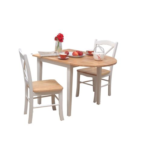 Dining Tables Sets For Small Spaces Chic Set White Painted Oak Wood Narrow Dining Tables For Small Spaces Using Oak Wood