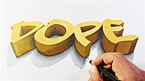dope  graffiti art drawing  paper youtube