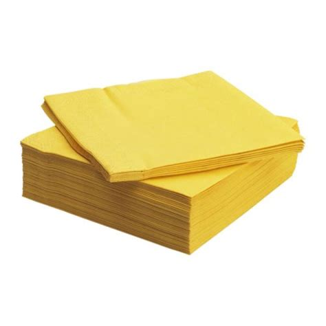 Yellow Bathroom Rugs Fantastisk Paper Napkin Yellow 40x40 Cm Ikea